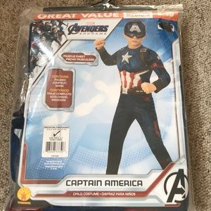 Marvel Avengers Captain America Costume